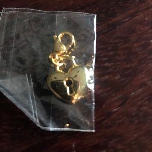 Origami Owl, heart pendant